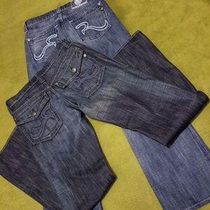 Donating Soon. Mens ROCK&REPUBLIC Denim Jeans